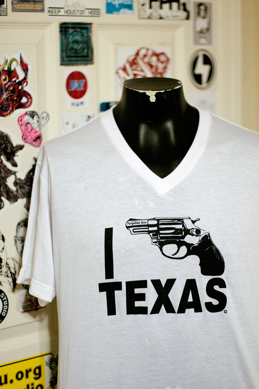 Image of Vneck I Bang Texas
