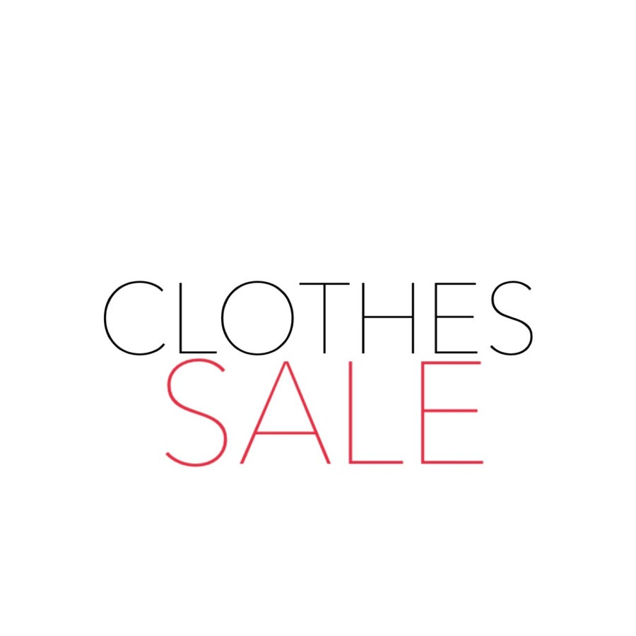 Image of Clothes Clearance Sale