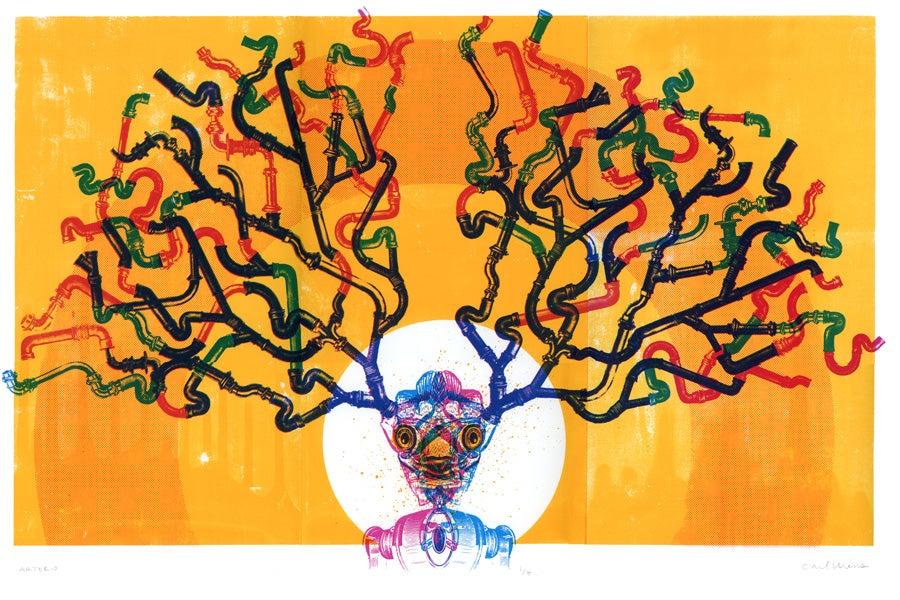 Image of Arterio Screen Print