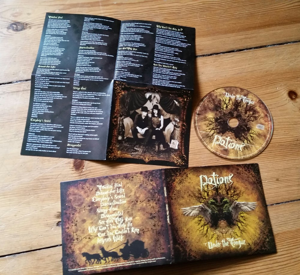 Image of 'Potions' Album, Audio CD