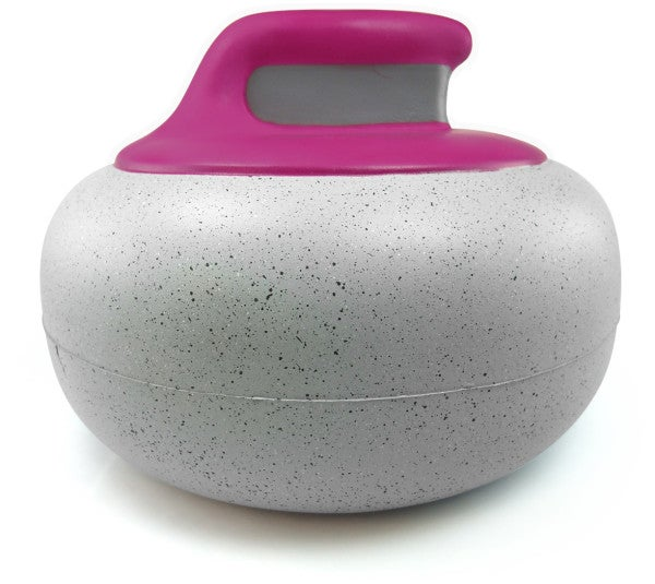 Image of Pink Handle Foam Curling Hat