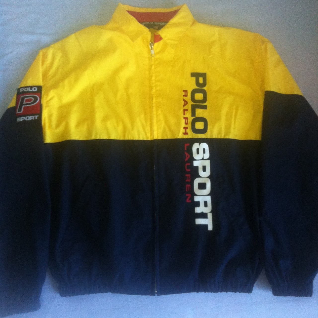 Polo Sport Harrington Bomber Jacket Size S Polo Vintage