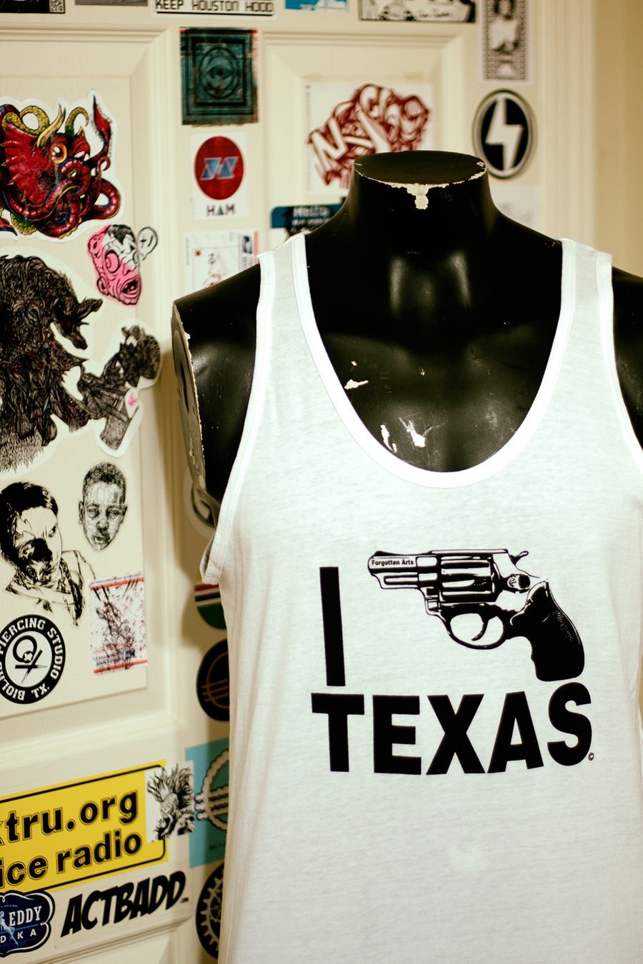 Image of White I Bang Texas Tank