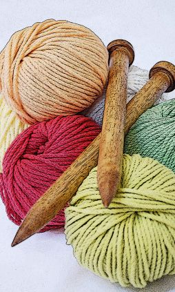 Image of Thursday 10th September 6pm: Introduction to knitting