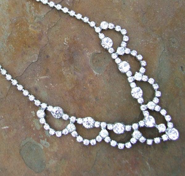 Diamante Crystal Bridal Forehead Band - Laura Pettifar Designs