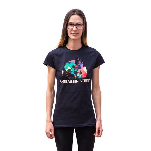 Image of Centre Straight Atom Ladies Tee