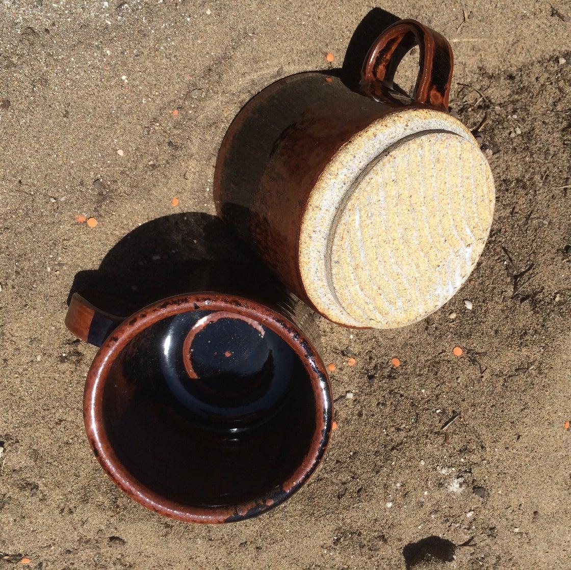 Image of Tenmoku mugs (set of 2)