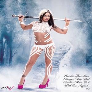 """Image of Velvet Sky """"Ice Queen"""" 18x24 poster"""