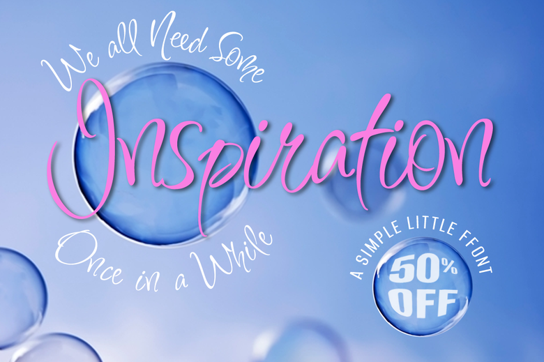 Image of Inspiration 50% Off