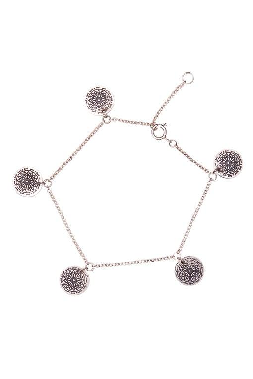 Image of LUCK N LOVE 5 Coin Bracelet