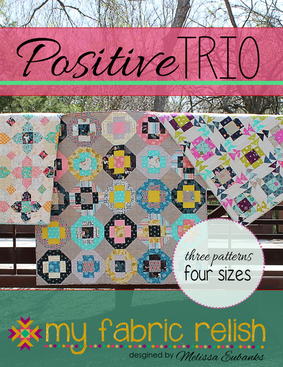 Image of Positive Trio Quilt Pattern