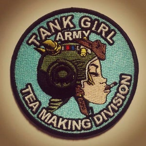 Image of Tank Girl Tea Making Division Patch (with signed card!)