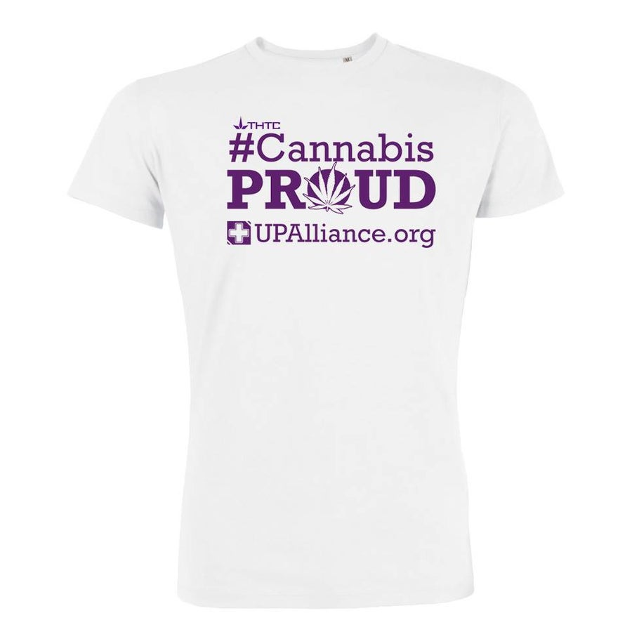 """Image of Brand New """"Cannabis Proud"""" T-Shirt"""