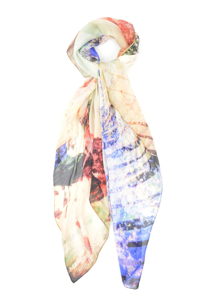 Image of Freedom Beach Blush Silk Chiffon Scarf