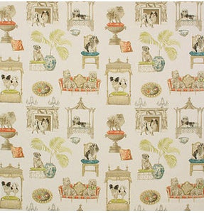 Image of 1 yard Westminster Ivory Fabric