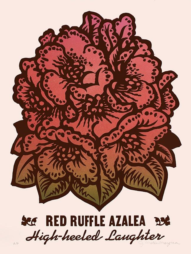 Image of Red Ruffle Azalea