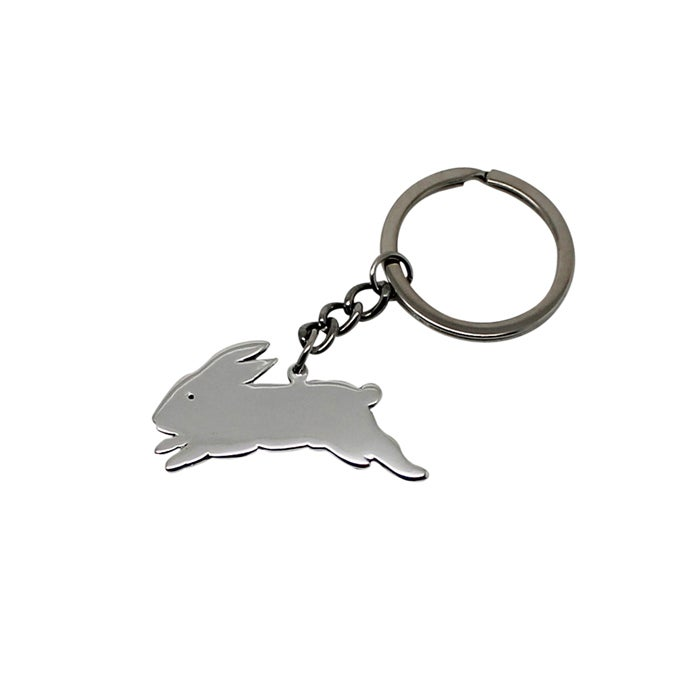 Image of Bunny Sterling Silver Key Chain