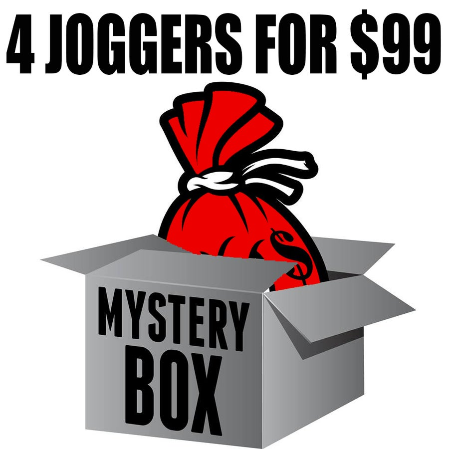 Image of MYSTERY BOX OF 4 JOGGERS