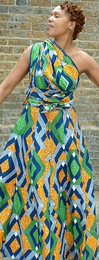 Image of Olalade Maxi Dress (3) (Worn In 5 Ways)