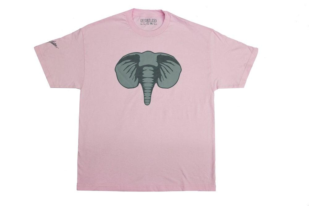 Image of EffortLess Logo Tee (Soft Pink)