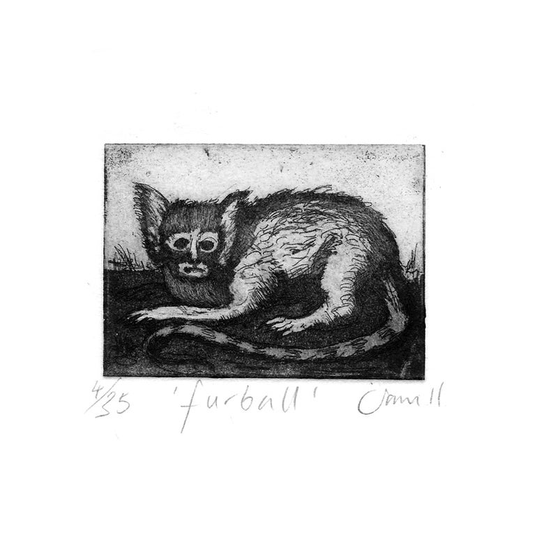 Image of 'Furball ' - Etching