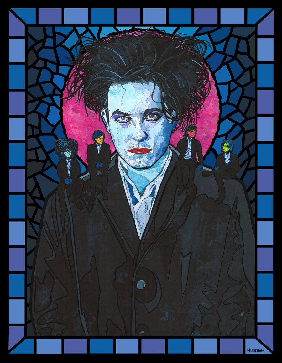 Image of Saint Robert Smith (The Cure)