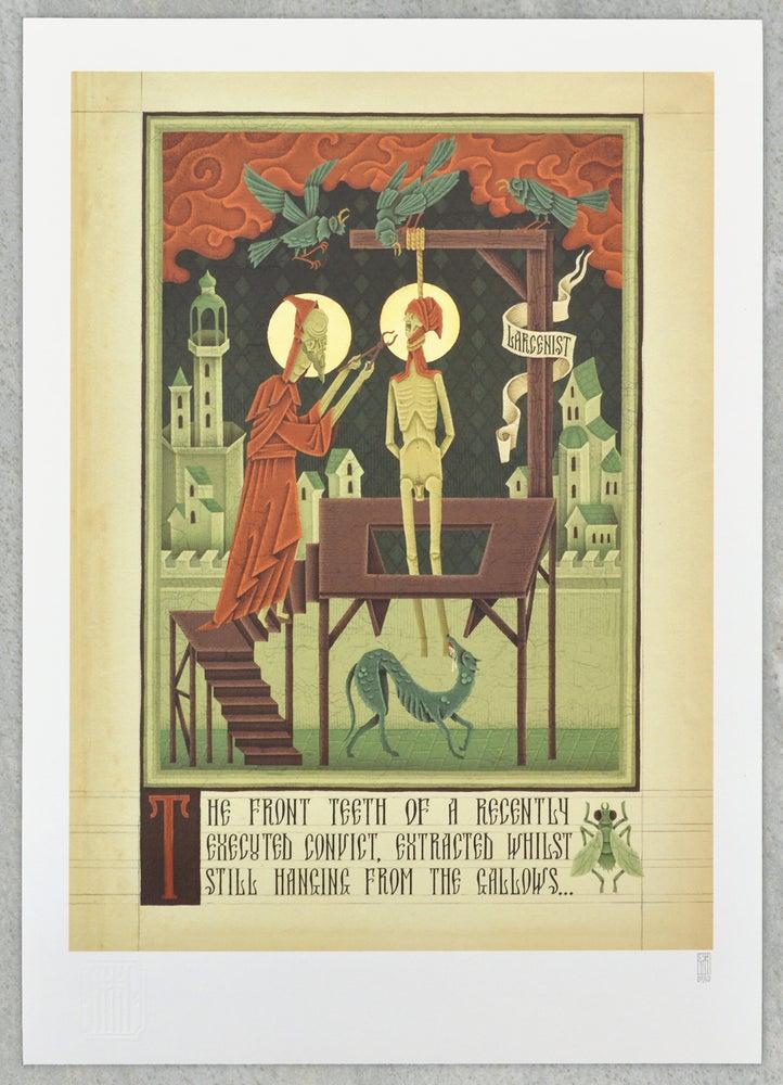 "Image of ""Gallows"" Digital Print from Dismal Incantation"