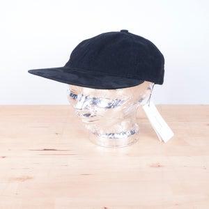 Image of Patrik Ervell - Horsehair Strap Washed Denim Cap