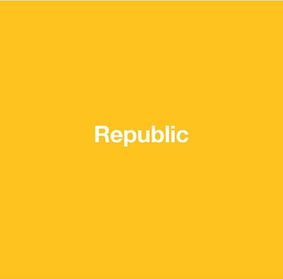 "Image of REN HANG ""Republic"""