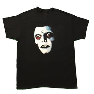 Image of face of fear tee