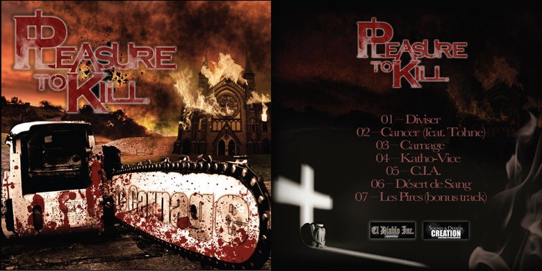 "Image of EP ""Le Carnage"""