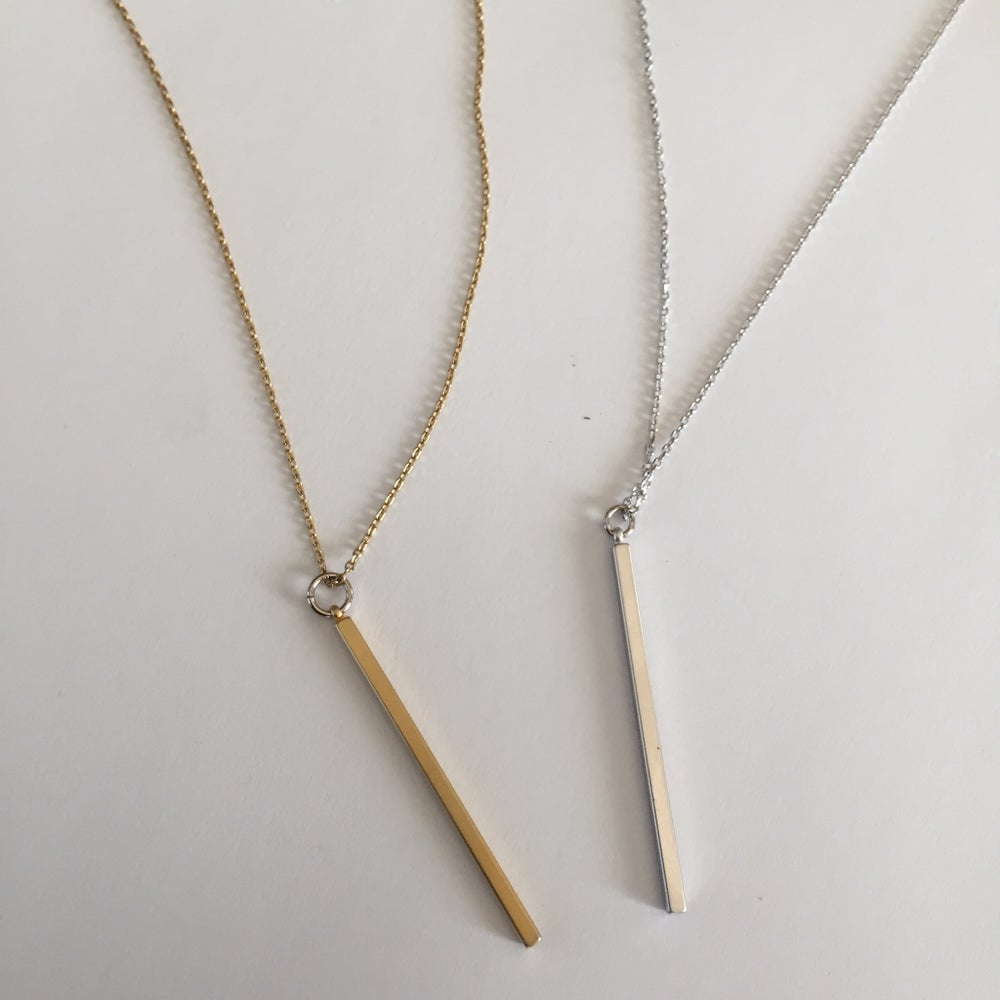 Image of Skinny Bar Necklace