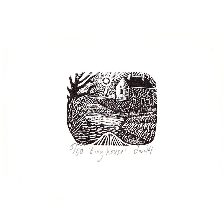 Image of 'Tiny House' - Wood engraving