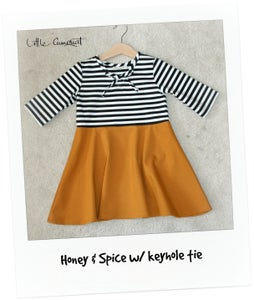 Image of Honey & Spice w/ keyhole tie