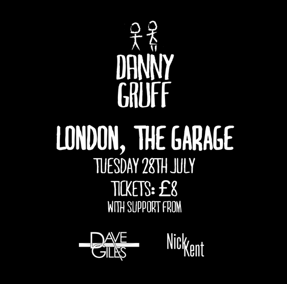 Image of London, The Garage Ticket, 28th July