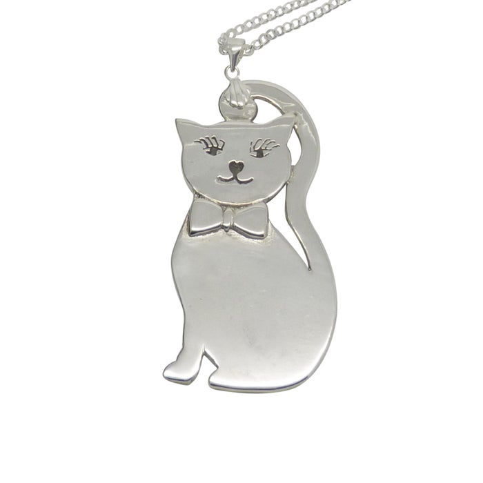 Image of CAT Sterling Silver Necklace