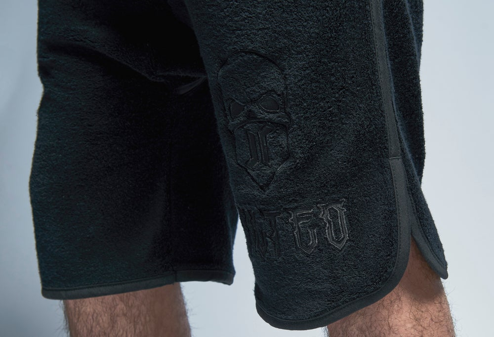 Image of THROW THE TOWELLING shorts