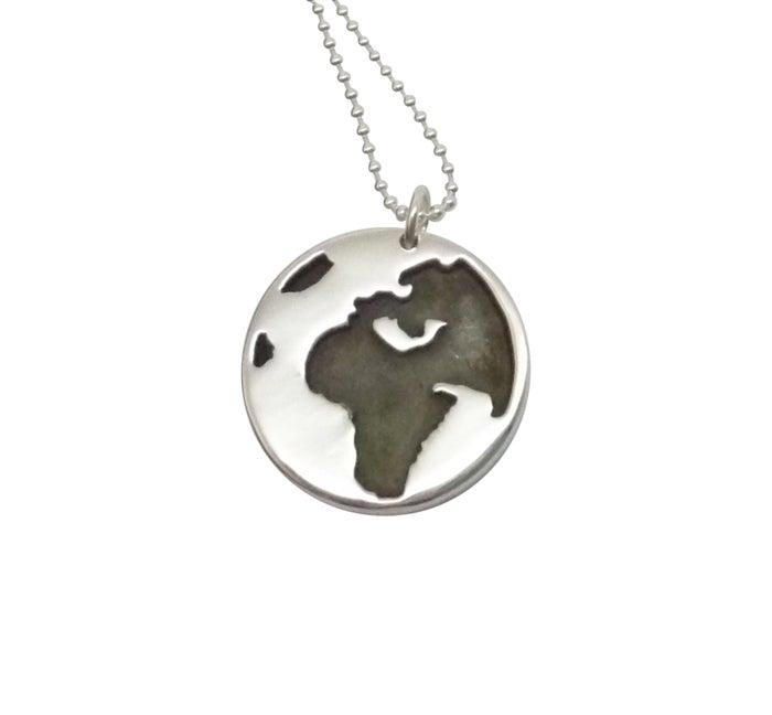 Image of GLOBE Pendant Necklace