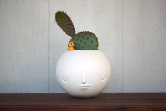 Image of pothead by yoskay yamamoto (satin white)