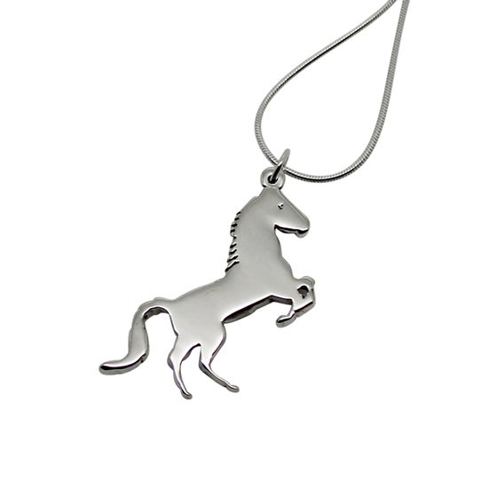 Image of Horse Necklace - Sterling Silver