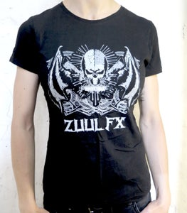 """Image of T-Shirt """"Zombie Killer FROM HELL"""" (Girly)"""