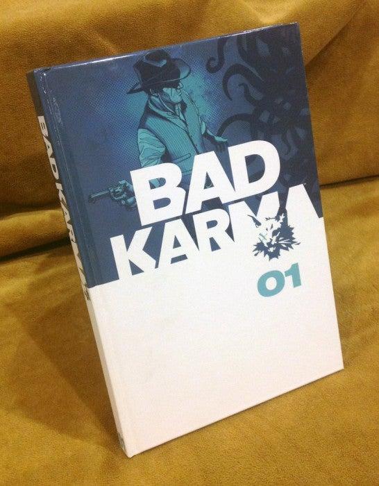 Image of BAD KARMA HARDCOVER Volume One