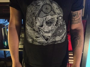 "Image of ""Acceptance/Rebuild"" Lp artwork shirt"