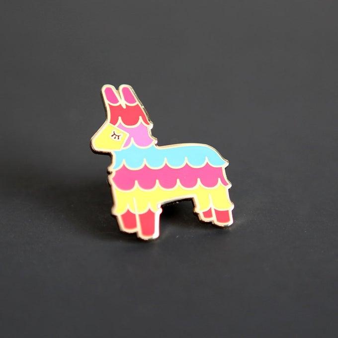 Image of Enamel Piñata Pin