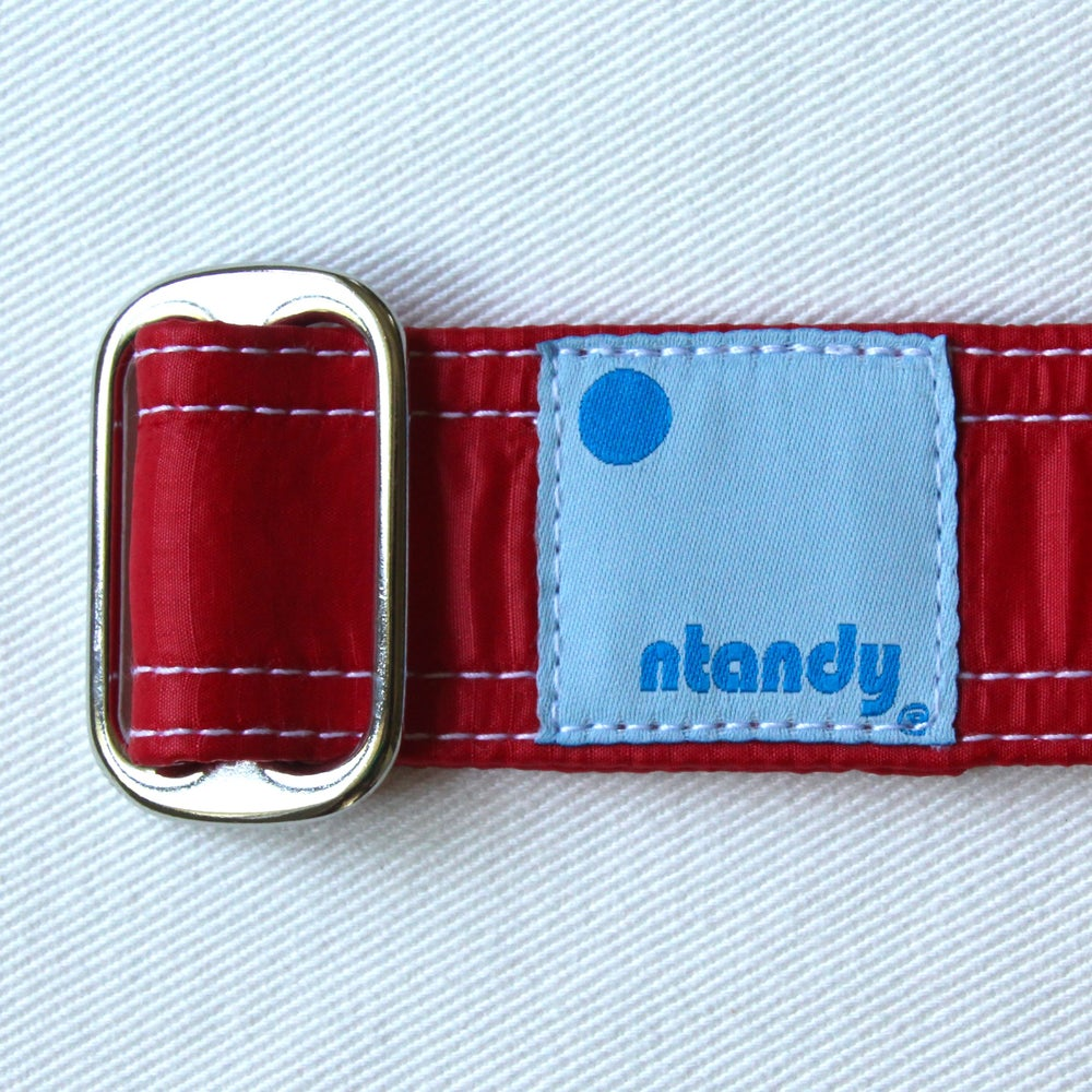 Image of Limited Edition Vintage Parachute Belt - Terminal Velocity Red