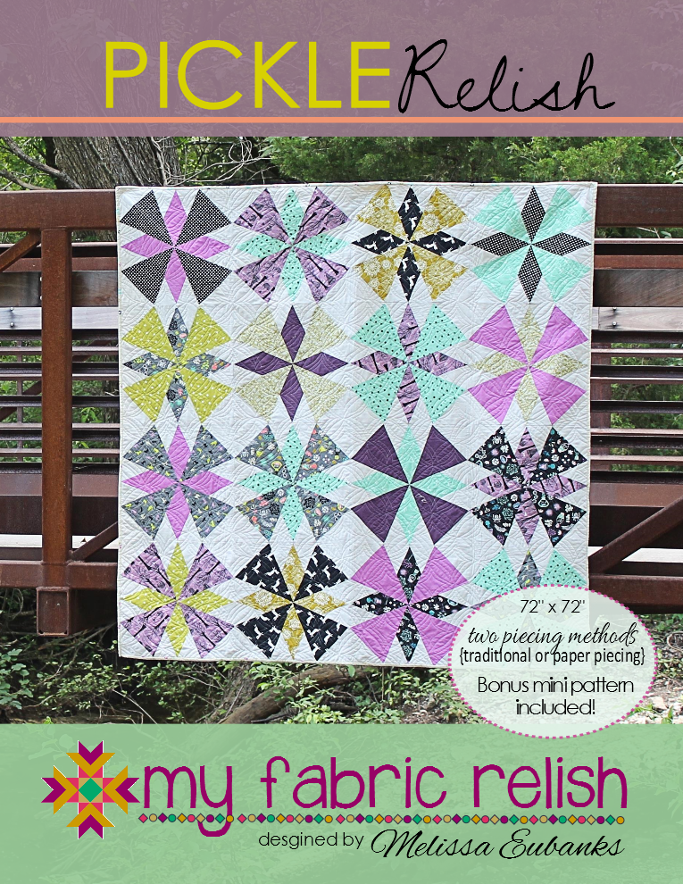 Image of Pickle Relish Quilt Pattern