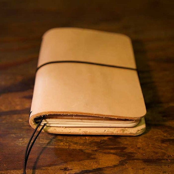 Image of Double Field Notes Leather Notebook Cover