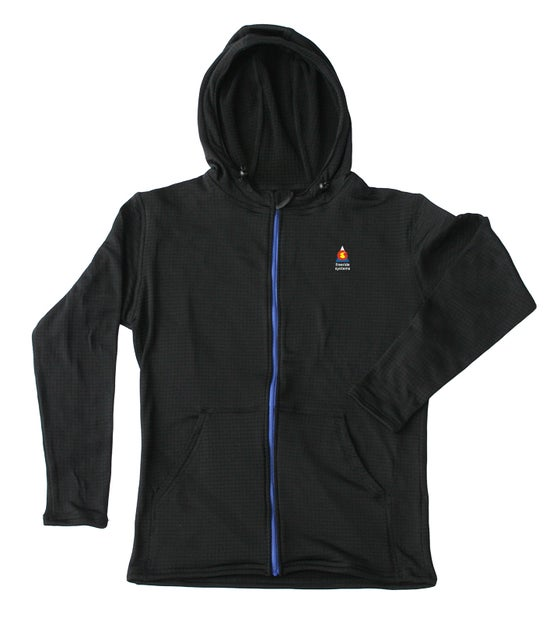 Image of Bross Casual Fleece Hoodie from Polartec Regulator Fabric