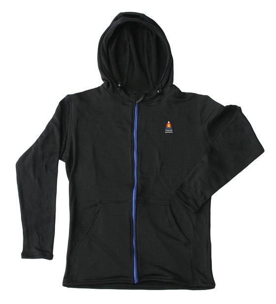 Image of Bross Casual Fleece Hoodie from Polartec Regulator Fabric