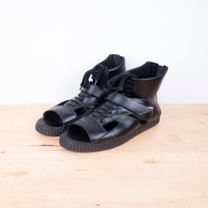 Image of Givenchy - Sneaker Cutout Back Zip Sandals